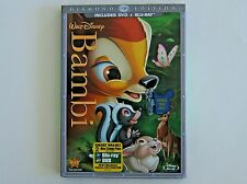 Disney Bambi Blu-Ray DVD 2 Disc Set Diamond Edition 2011 w/Collectible Slipcover