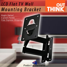 Universal LED LCD Flat TV Speaker Wall Mounting Bracket Swivel