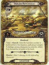 Lord of the Rings LCG  - 1x Dunland Battlefield  #157 - The Antlered Crown