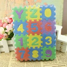 36pcs Puzzle Kid Educational Toy Alphabet A-Z Letters Numeral Foam Mat Mini Sz