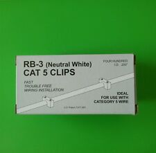 Cat5 (05NW-Neutral White) Telecrafter Cable Clip/Staple