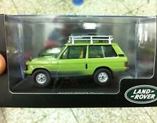 "NIB RANGE ROVER Classic ""Green"" - 1:43 Scale DieCast Model Car"
