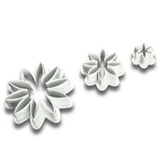 Daisy Fondant Cutter Set Sugar Craft Cake Decorating Baking