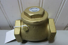 Proflo PFX31J Brass Check Valve 1-1/2'' New!