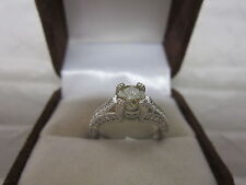 GORGEOUS ESTATE 14 KT GOLD 1.34 CTW FANCY CHAMPAGNE DIAMOND RING !!!!!