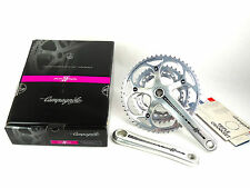 Campagnolo Athena Triple Crankset 172.5mm 30/39/52 11 Speed Silver NEW
