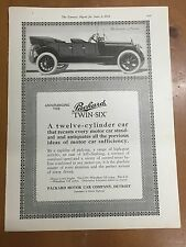 1915 Packard Twin Six Magazine Advertisement Poster