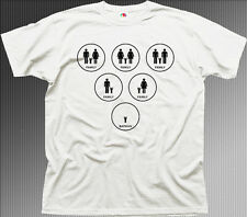 BATMAN FAMILY dark knight funny white printed t-shirt 9942