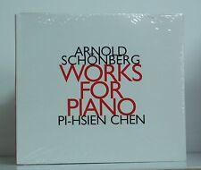 CD Schönberg Works for Piano Pi-Hsien Chen  Hat[now]ART 1999 neu & ovp