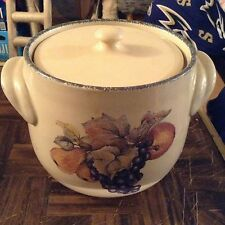 Home and garden party LTD heavy stoneware crock cookie jar