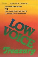Low Voice Treasury: 101 Contemporary and Time-Honored Favorites by Fettke, Tom