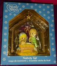 Precious Moments Nativity Set 2009 Brand New in Box! 4 piece set