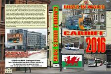 3294. Cardiff. UK. Buses. April 2016. New buses feature in the Cardiff fleet sin