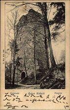1902 CPA mit Stempel Barr auf AK Forsthaus Nideck Burg Ruine Vosges Vogesen