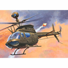 REVELL 04938 Bell OH-58D Kiowa Helicopter 1:72 Aircraft Model Kit