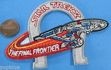 PATCH - Star Trek V The Final Frontier movie - Enterprise & horseshoe '89 vtg