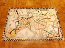 Ticket to Ride Europe Replacement Original Game Board Map - Not Complete Game