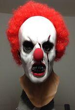 Zombie Clown mask Creepy Horror Scary Halloween Mask Vampire Jason Freddy Myers