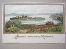 Gruß von der Mainau - Litho, um 1900