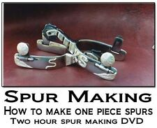 Spur Making Video DVD Vol 2 How to Make Handmade Spurs [One Piece Spurs] Cheaney