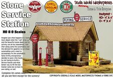 Sinclair Service Station Kit Scale Model Masterpieces/ Yorke HO Fine Craftsman