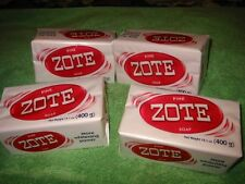 4 large Bars of a Great Catfish Bait! Pink Zote Soap attracts Big Fish! FREE FRT
