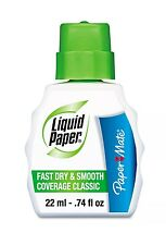 Paper Mate Liquid Paper Correction Fluid 22ml Smooth