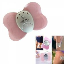 Mini Butterfly Body Muscle Cordless Slimming Pulse Massage Massager Pink