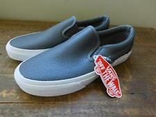 Vans X J Crew Collaboration Slip On Sneakers Perforated Gray 8 M 9.5 W SHOE SWAG