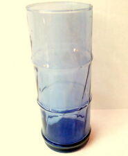 Blue Tiki Bamboo Libbey Glassware Water Glass