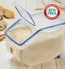 Rice/Grain Food storage Containers Bisphenol-A Free!! Lock & Lock 22pound(10kg)
