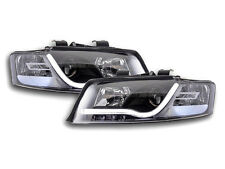 Audi A4 B6 8E (2001-2004) Black LED DRL Daylight Running Headlights RHD FREE P&P