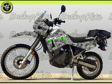 Kawasaki KLR 650 1ST GENERATION CAMOUFLAGE FULL BODY / DECALS / GRAPHIC KIT