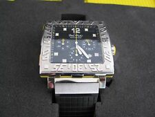 PAUL PICOT PP-0830SG.BC Black Le Plongeur C Type Caree Chrono 42 x 42 mm