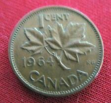 CANADA One Cent 1964     #1