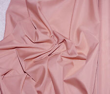 """PONGEE LINING FABRIC DUSTY ROSE PINK   60"""" WIDE BY THE YARD  BLOUSES HOME DECOR"""
