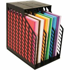 Advantus Cropper Hopper Easy Access Paper Holder, Black, New, Free Shipping
