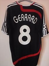 Liverpool Gerrard 8 ucl football shirt