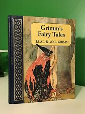 Grimm's Fairy Tales Quarter Leather Illustrated Arthur Rackham Walter Crane