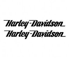 Harley Davidson tank decals badges Stickers Gloss Matte Black Silver Gold Grey