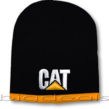 Caterplillar CAT Logo Beanie Construction Cap Hat Tractor Trucker Equipment Men