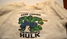 MMMS CLUB - INCREDIBLE HULK 2 Sided SWEATSHIRT Youth Marvelmania RARE 1966