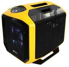 Corsair 380t, Grafite SERIE 380t Giallo Portatile Mini itx Gaming PC CASE