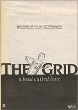 15/9/90 Pgn59 Advert: The Grid a Beat Called Love On East West Records 7x5
