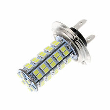 New Xenon 68 SMD Car H7 6000K LED Bulb Head Light Fog Daytime Lamp Vehicle 12V