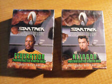 STAR TREK CCG TROUBLE WITH TRIBBLES FEDERATION AND KLINGON STARTERS