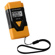 Digital LCD Wood Firewood Moisture Humidity Meter Soil Damp Detect Tester BI427