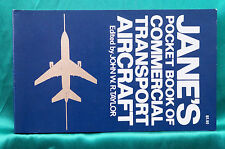 Jane's Pocket Book of Commercial Transport Aircraft - Free Shipping