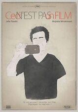Affiche 120x160cm CECI N'EST PAS UN FILM /IN FILM NIST 2011 Jafar Panahi EC