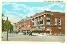 Port Allegany,PA. Fetterly's corner Drug Store on Main Street